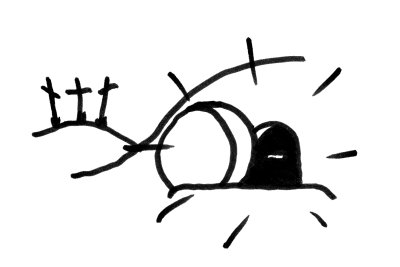 Free Empty Tomb Clipart Black And White, Download Free Clip.