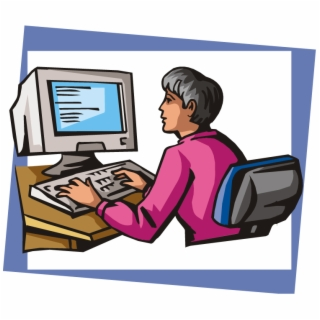 Typing Clipart Encoder.