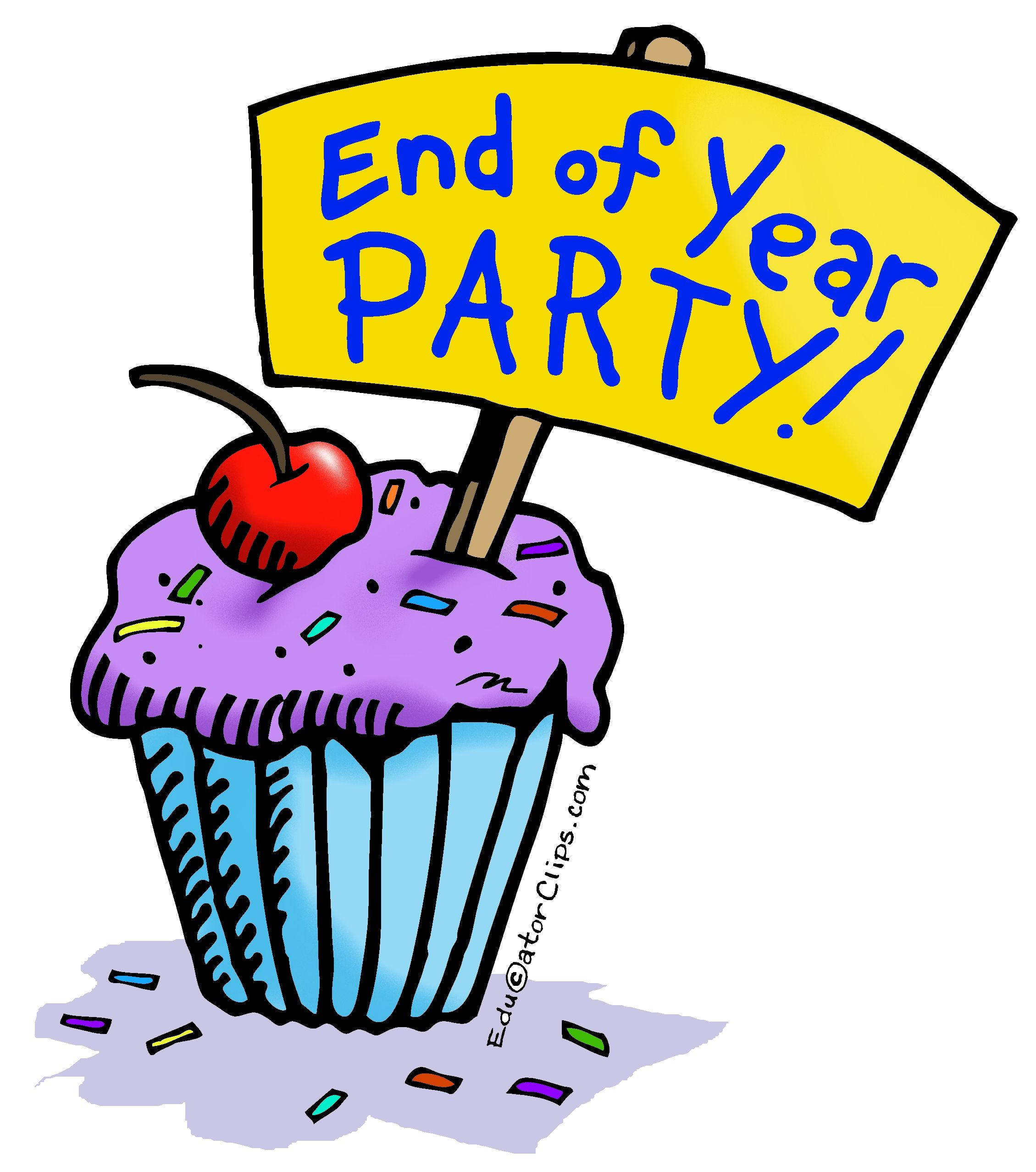 End of Year Party Clip Art Use this clip art to announce the.