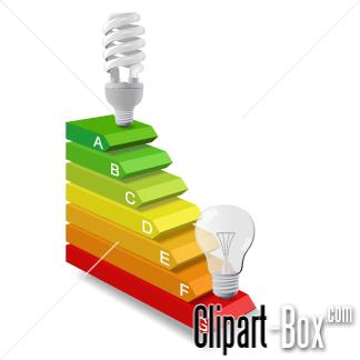 CLIPART ENERGY SAVING.