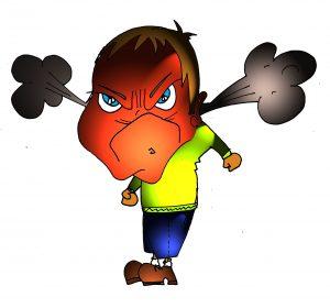 Enfadarse ¿es sano?.