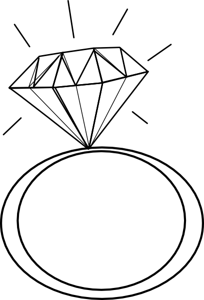 diamond ring clipart Diamond Ring Clipart.