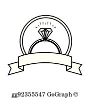 Engagement Ring Clip Art.