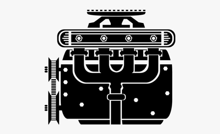 Engine Clipart Detailed.