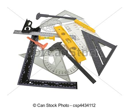 Stock Photo of Engineering Tools.