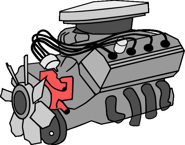 Car Engine Clipart.