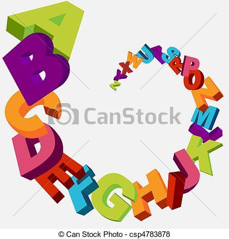 Animal Alphabet Letters Clipart#2047651.