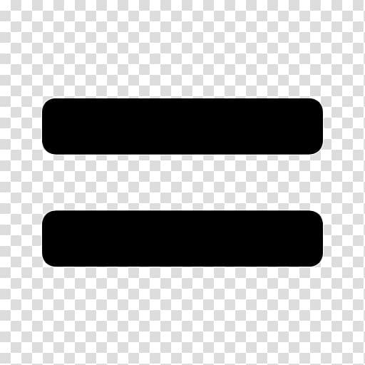 Equals sign Equality Mathematics Symbol , Mathematics transparent.