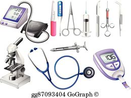 Medical Equipment Clip Art.