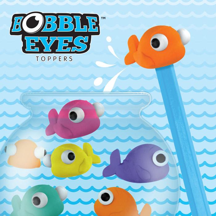 Bobble Eyes Erasers.