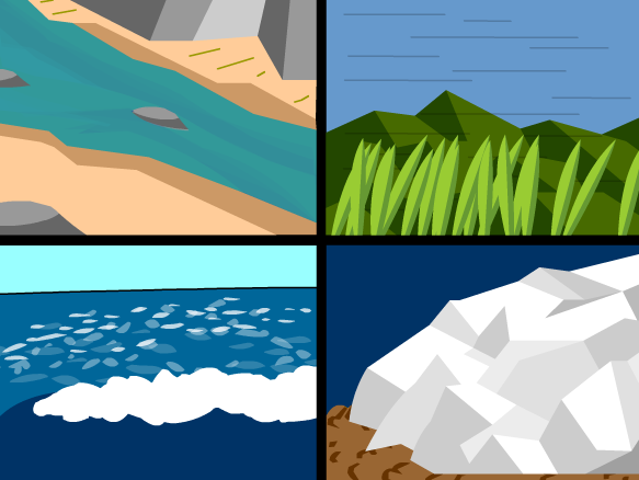 Erosion By Water Clipart.