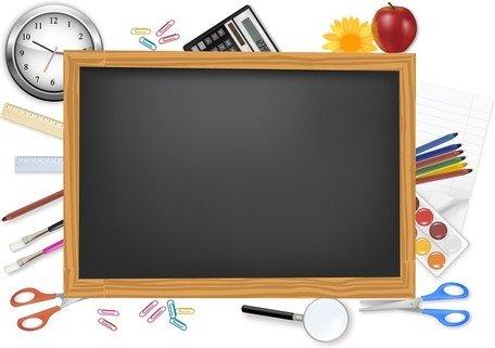 Clipart e gráficos vetoriais de Material escolar e papelaria.