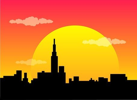 Beautiful Evening Clipart Picture Free Download.