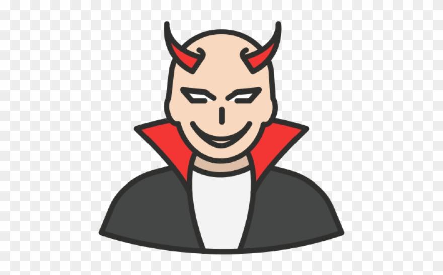 Satanism Clipart Evil Person.