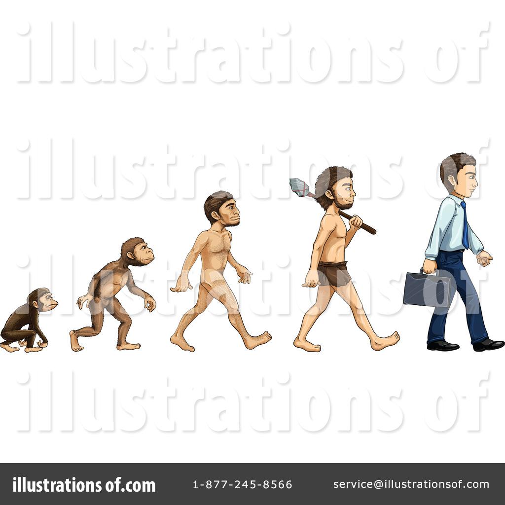 Evolution Clipart #1139699.