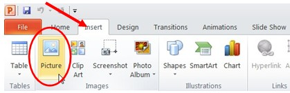 How to insert a picture or clip art into an Excel file.