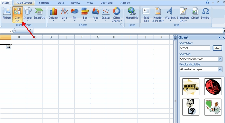 Clip Art For Word And Excel Clipart#2112607.