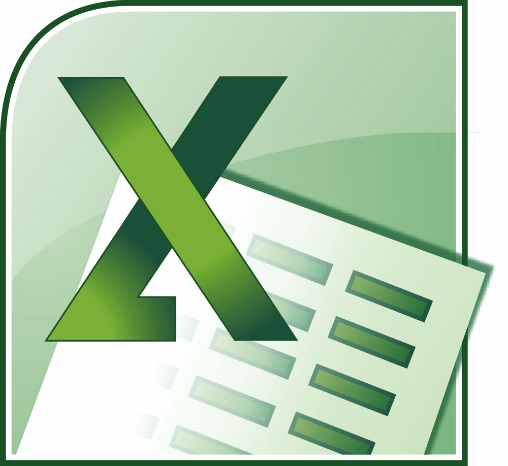 Microsoft Excel Clipart.