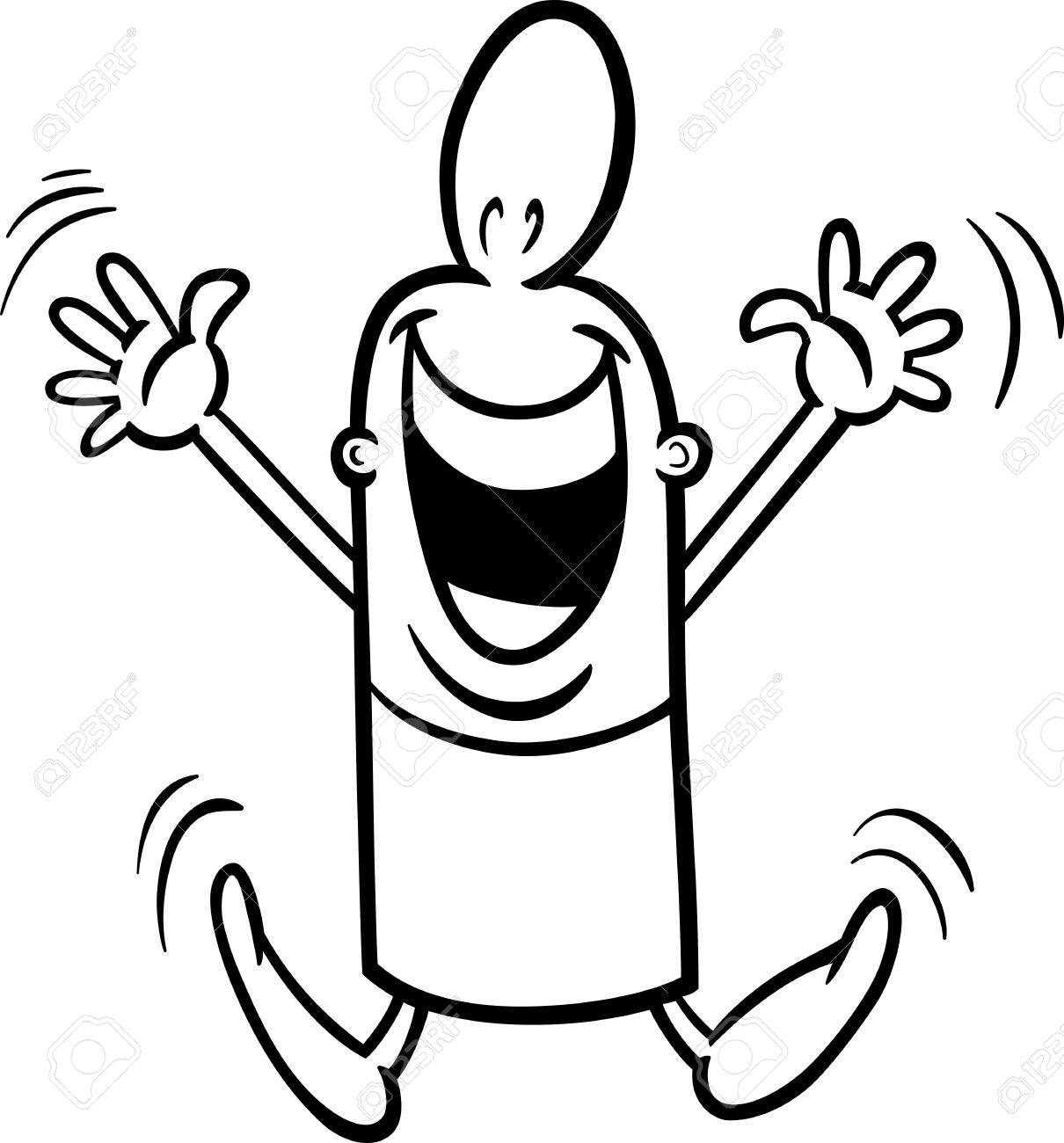 Excited Clipart.
