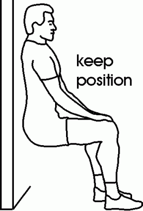 Adult Exercise Clipart.