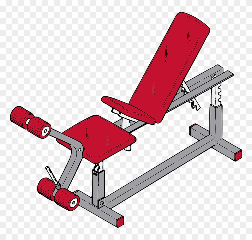 Exercise Bench Png.