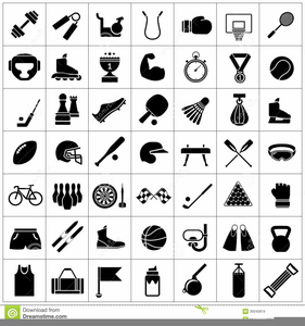 Free Clipart Exercise Equipment.