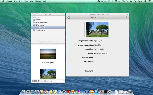 Image Exif Viewer.