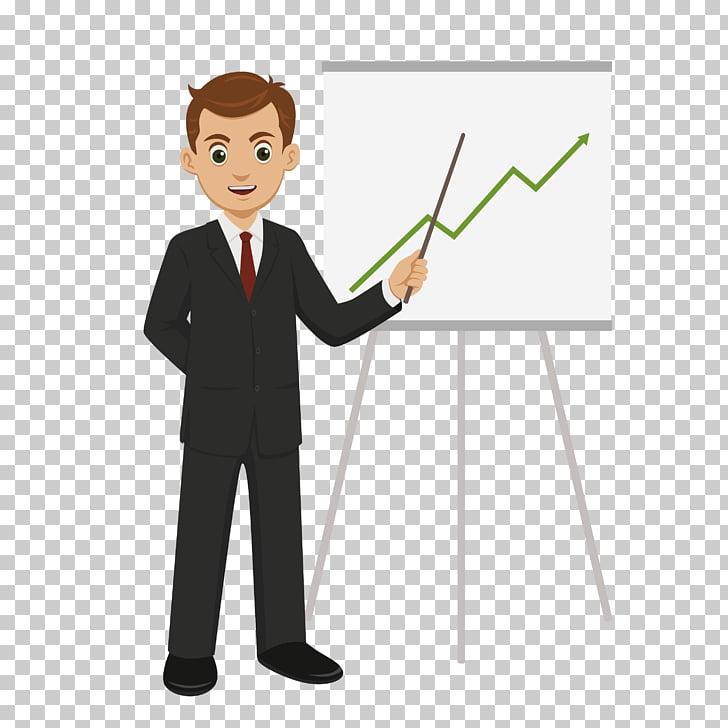 Businessperson Cartoon Euclidean , Explain plan PNG clipart.