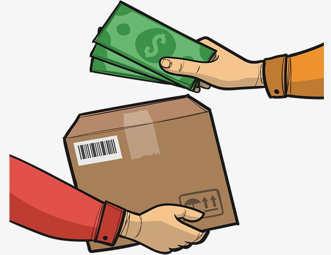 Hand In Hand, Vector Png, Express Delivery, Cash On Delivery.