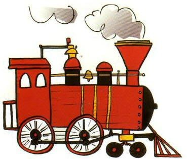 steam train drawing tutorial for cards in 2019.