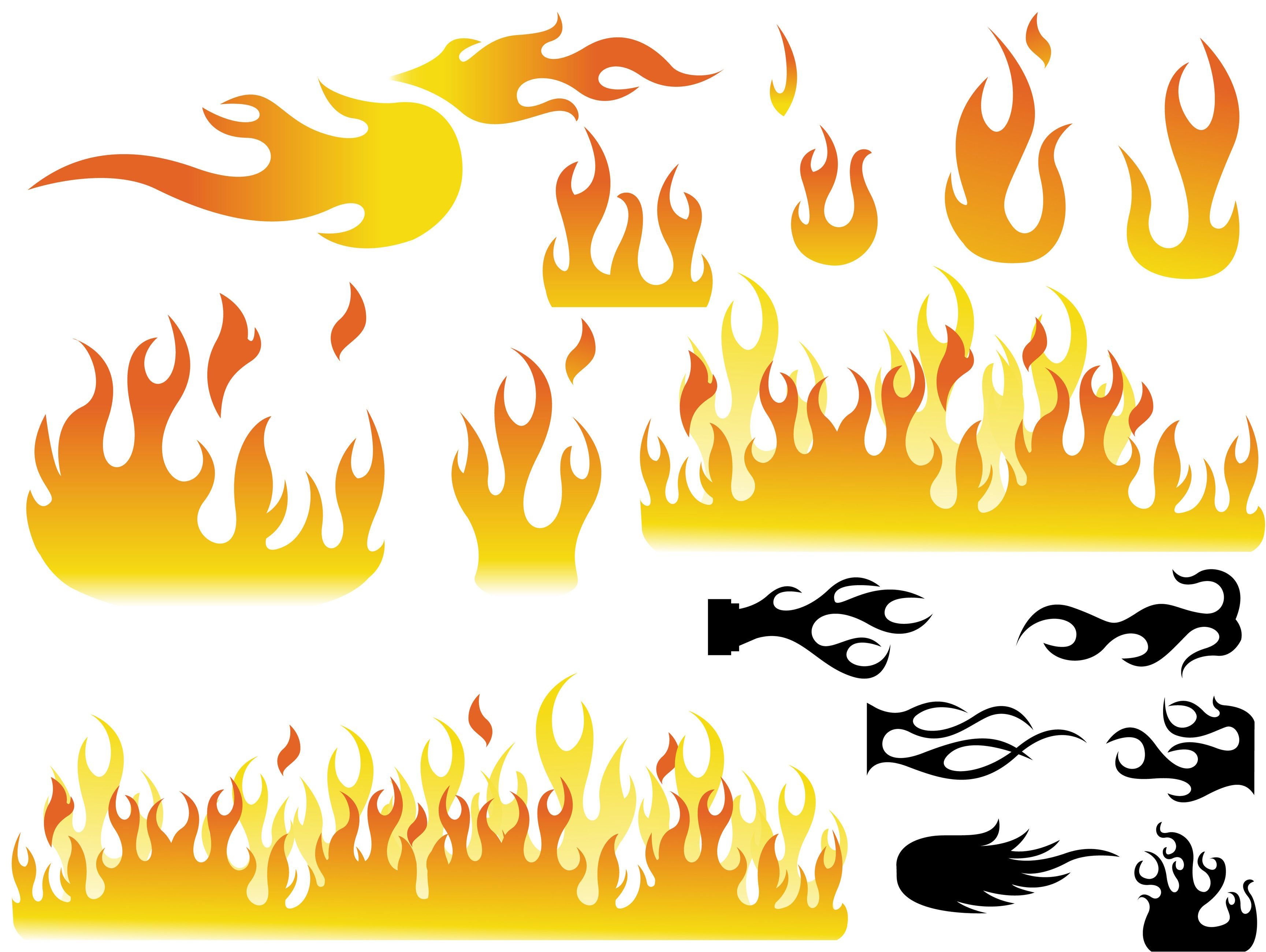 How To Draw Cartoon Fire Flames.