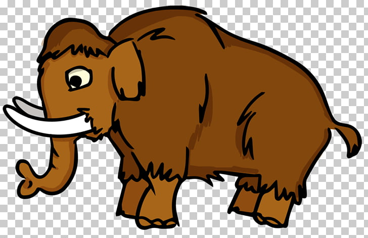 Woolly mammoth Drawing Cartoon , Extinct s PNG clipart.