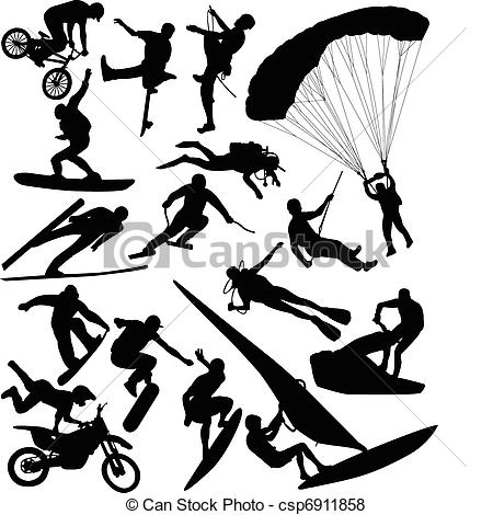 Extreme sports clipart 2 » Clipart Station.