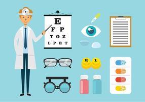 Eye Doctor Free Vector Art.