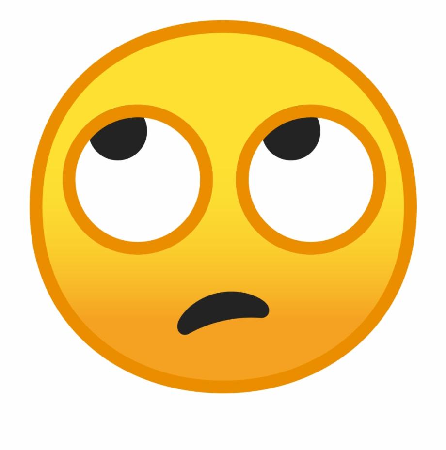 Eyes Emoji Png Eye Roll Emoji.