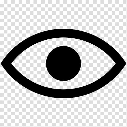Computer Icons Eye Symbol , Eye transparent background PNG.