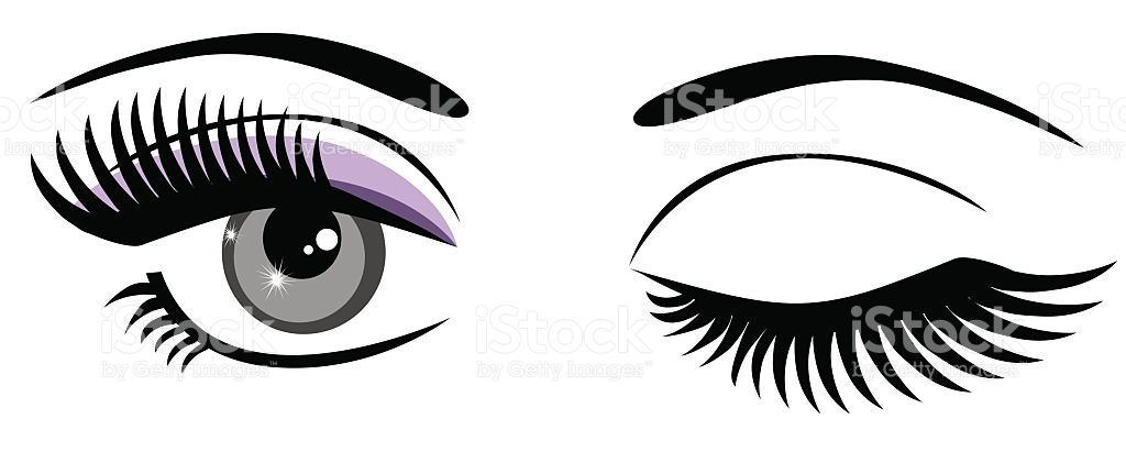Eyelashes Clip Art, Vector Images & Illustrations.