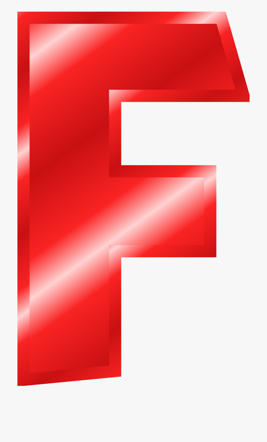 Letter F Red Clipart , Transparent Cartoon, Free Cliparts.