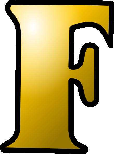 Letter F Icon clip art Free Vector.