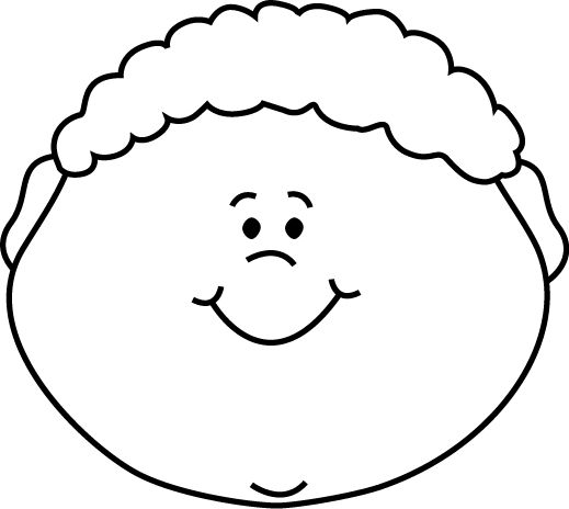 Boy face clipart black and white 3 » Clipart Station.