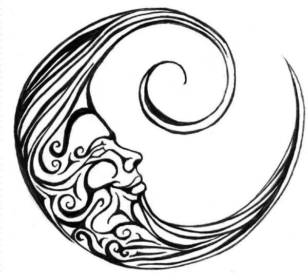 Tattoo Star Idea Clipart.