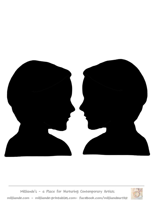 Free Face Silhouette, Download Free Clip Art, Free Clip Art.