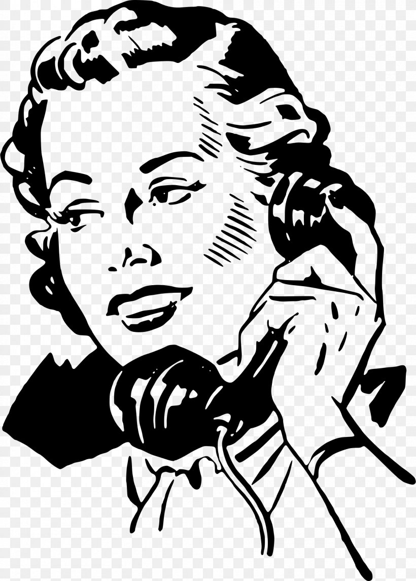 Telephone Mobile Phones Woman Clip Art, PNG, 1718x2400px.