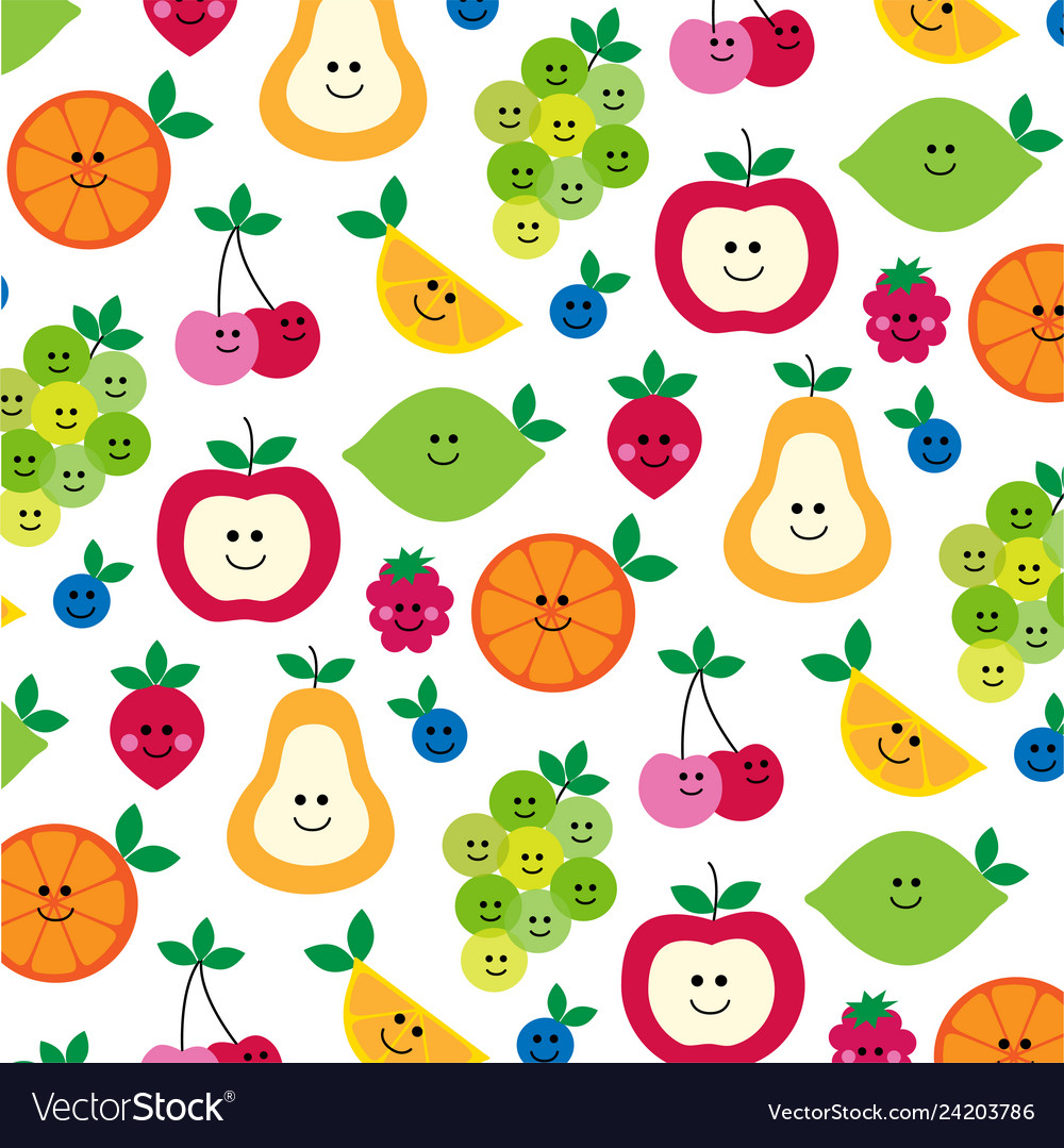 Mhd fruit with faces clipart preview.