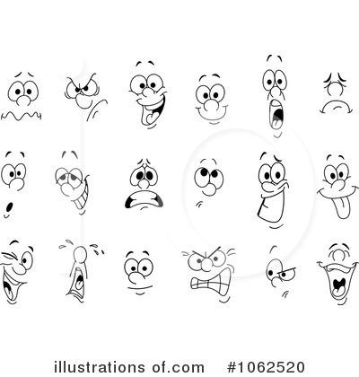 Faces Clipart #1062520.