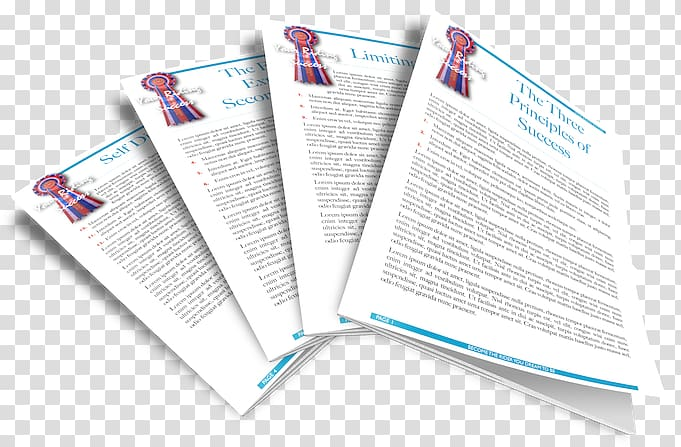 Brand Brochure, article facilitate transparent background.