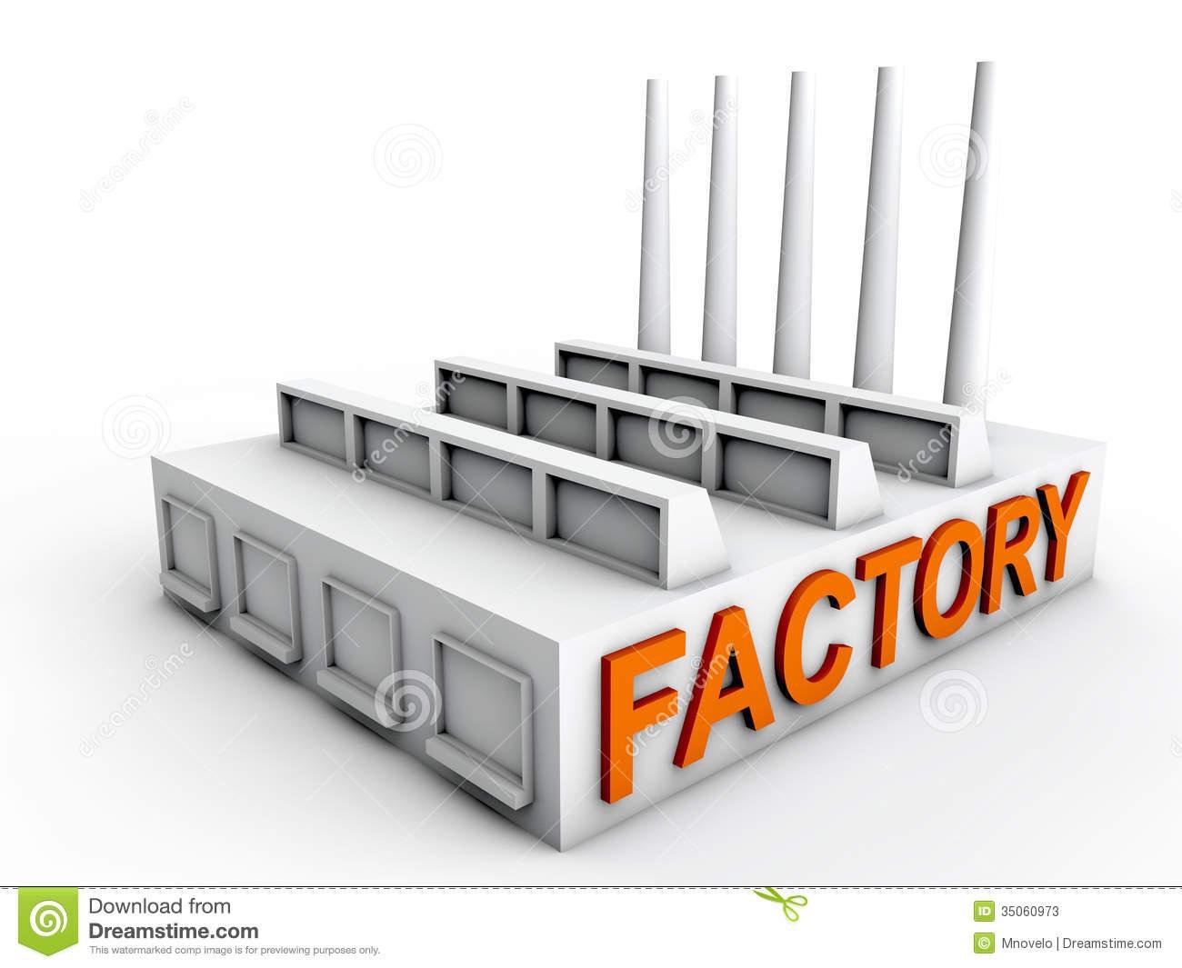 Factory Plant Clipart#2130902.