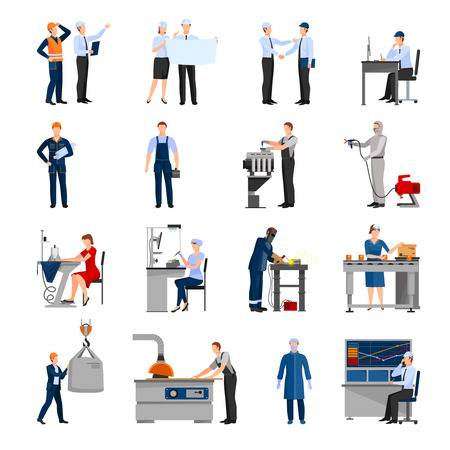 15,076 Factory Worker Cliparts, Stock Vector And Royalty Free.