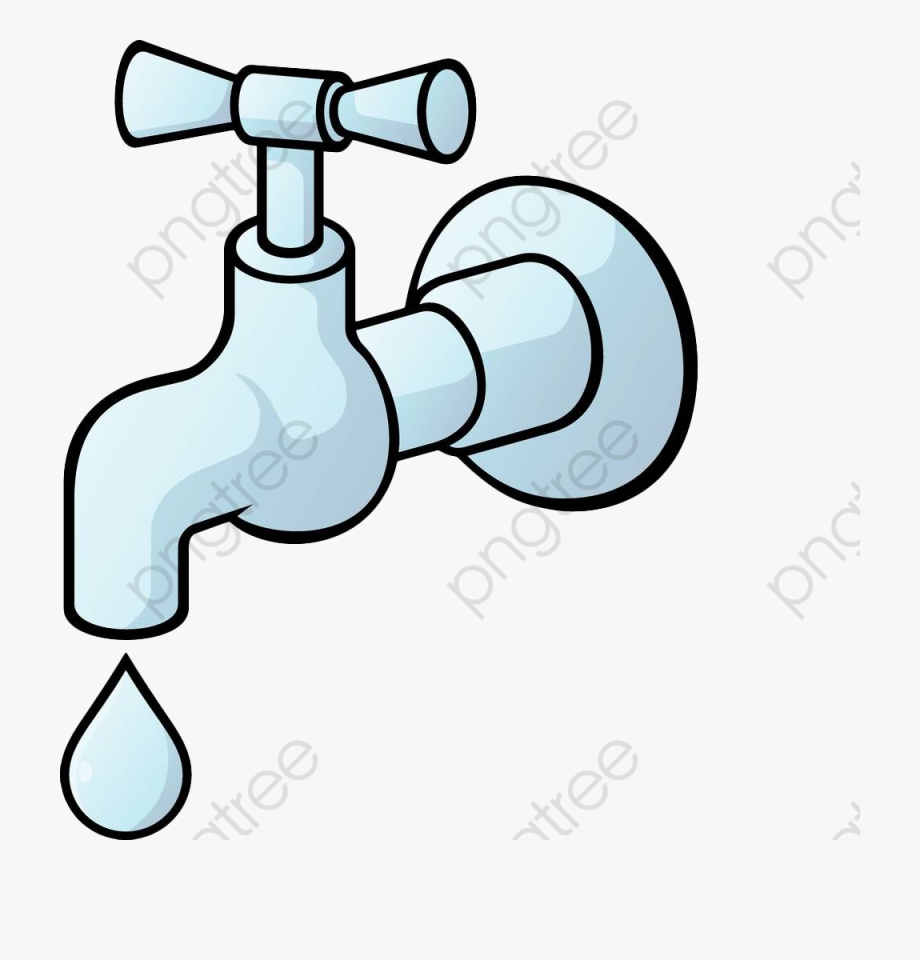 Water Clipart Faucet.