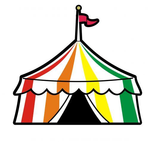 Fair tent clipart.